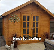 craft sheds for art sewing photography and pottery