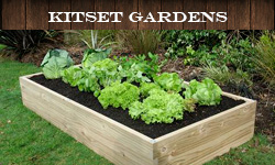 Raised Garden Beds and Kitset Planters