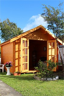 wooden outdoor studio - Wooden Garden Sheds Nz