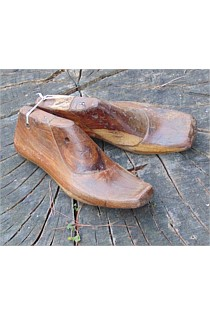 Set of Aged Wooden Shoe Lasts