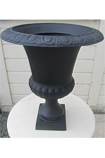 Black Boutique Urn - very cute!
