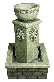 Lion Bowl Water Feature
