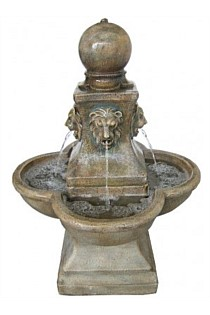 LION-HEADS Water Feature