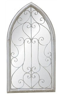 Large Gothic Style Mirror