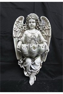 Angel Garden Statue - Wall Hung