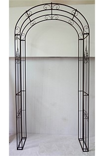 Decorative Large Brown Arch