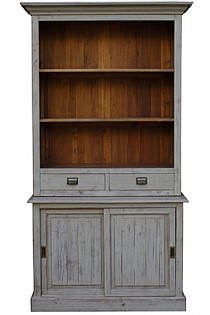 Buffet 2 drawer & 2 Door Old Pine / Grey Wash