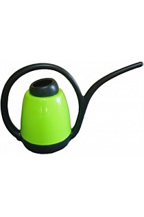 WATERING CAN PLASTIC LIGHT GREEN 1.2L