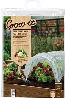 CLOCHE POLYTHENE GROW TUNNEL