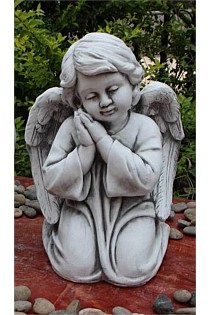 Angel with Hands Under Cheek
