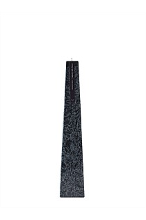 Black Granite Icicle  Sandalwood - Small