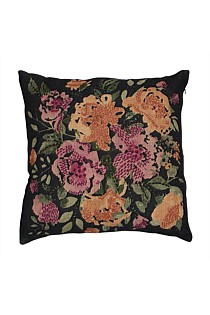 Fleur Faded Pink Flower Cushion - Large size