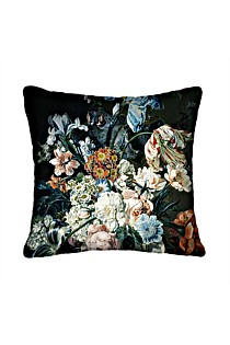 Blooming Bouquet Flower Square Cushion