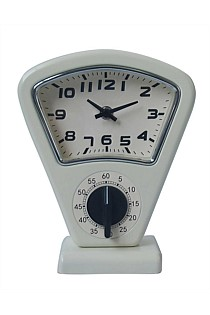 Mantle Clock with Timer