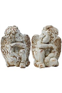 Set of 2 Darling Rustic Angels