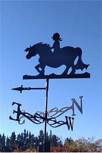 Pony Weather Vane