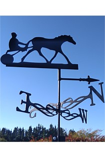 Horse Trotter Weather Vane