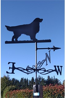 Retriever Dog Weather Vane
