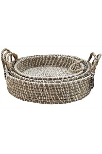 Seagrass Trays - Set of 3