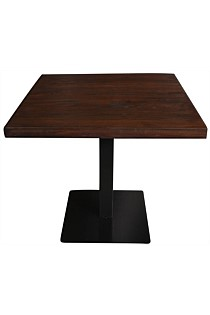 Elm cafe table square