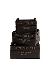 Farmhouse Fruit Crate - Set of 3