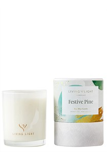 Christmas Soy Candle (Limited Edition) Festive Pine - Mini