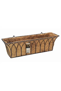 GOTHIC WALL BASKET TROUGH 75CM