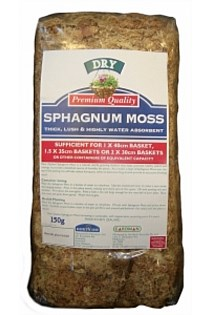 MOSS BRICK SPHAGNUM COMPRESSED 150G
