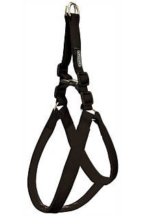 PADDED HARNESS DOG - BLACK LARGE
