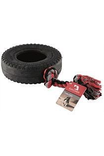 TOY CHEW ROPE & RUBBER TYRE EXPLORER