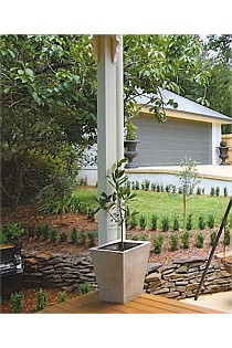 """Concrete Look"" Feature Planter - Large"