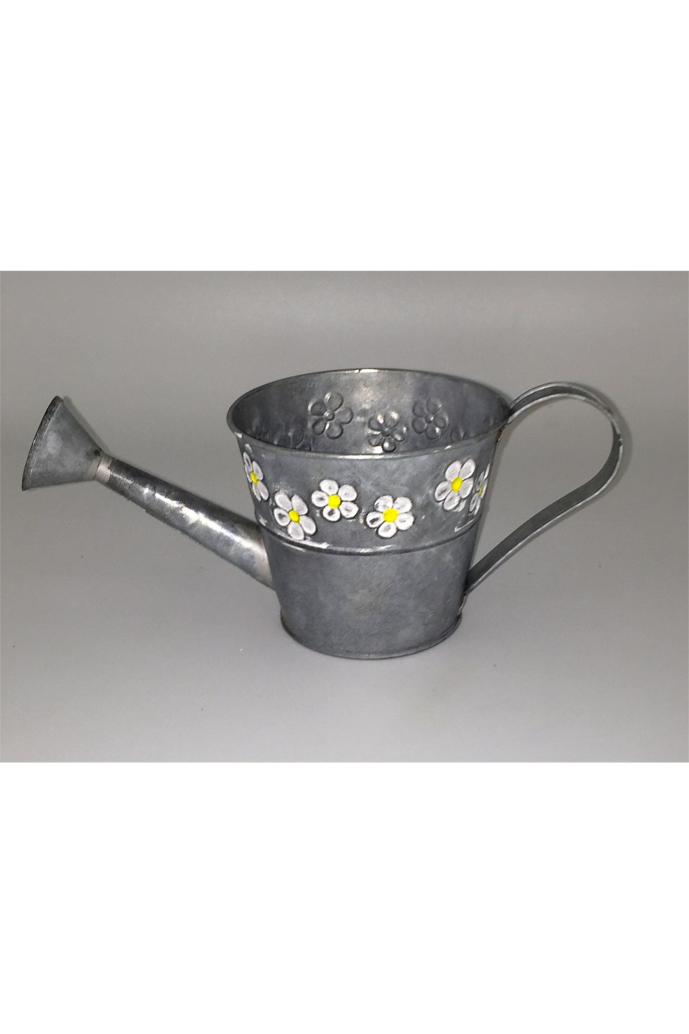 Small Decorative Watering Can With Daisys