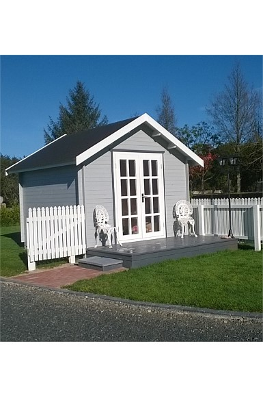 Shed for home business